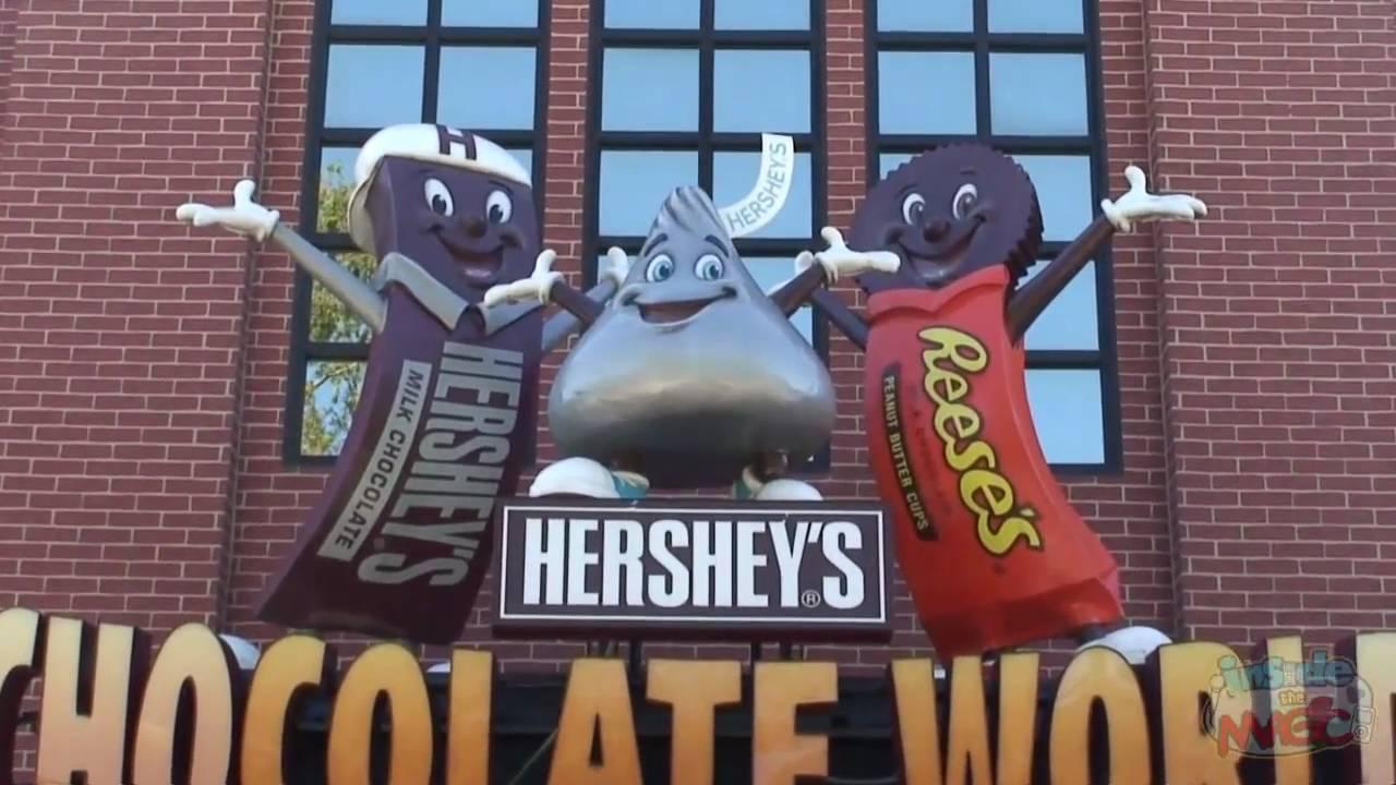 HIWAY AMERICA – HERSHEY CHOCOLATE FACTORY TOUR, HERSHEY PA ...