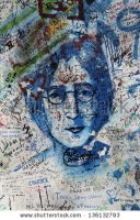 stock-photo-prague-czech-republic-april-the-lennon-wall-since-the-s-filled-with-john-lennon-inspired-136132793