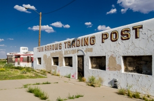 Twin Arrows Trading Post, Twin Arrows Arizona, Route 66