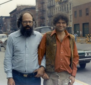 Allen Ginsberg and Gregory Corso1973