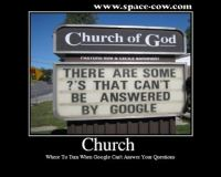 Church of God funny demotivational poster