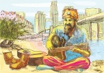19672271-the-bearded-hippie-man-playing-the-guitar