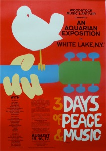 1969 PUBLICITY 5 X 7 PHOTO FLOWER CHILD AT WOODSTOCK 50TH ANNIVERSARY AUG 16
