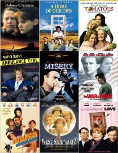 Kathy Bates Movie Posters 9pk