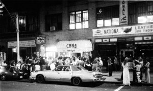 """The long view across Bowery that fabulous summer of 77"" godlis,1977)"